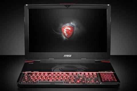 MSI dünyanın ilk mekanik klavyeli dizüstü bilgisayarı GT80'i tanıttı