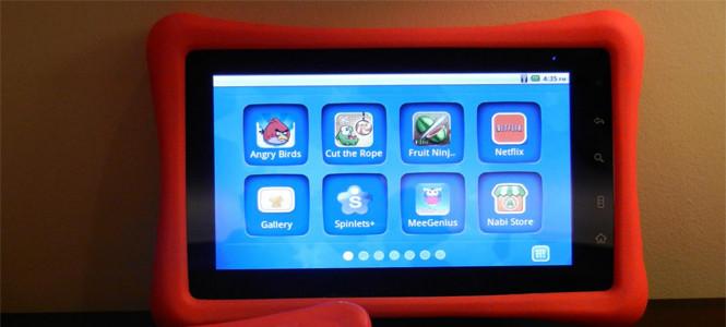 İşte çocuklara özel tablet bilgisayar!