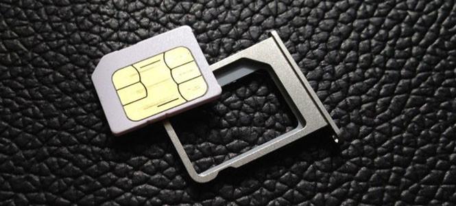 SIM kartlar küçülüyor!