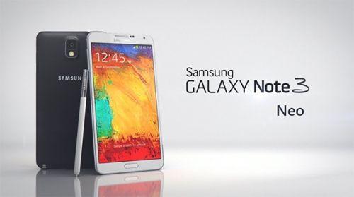 Samsung Galaxy Note 3 Neo satışa sunuldu