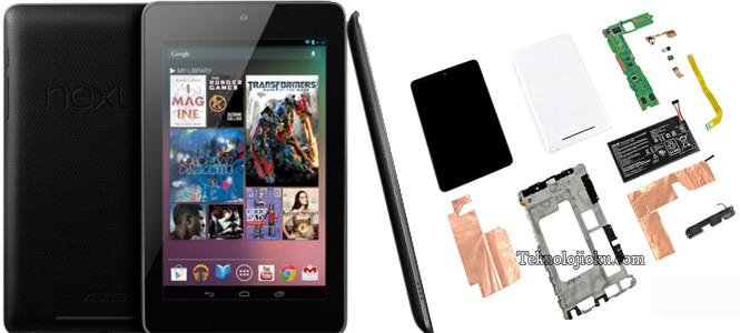 Nexus 7'yi diğer tabletlerle karşılaştırdık!