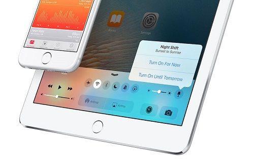 iOS 9.3 ile ''gece okuma modu'' geliyor