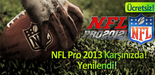 Android için NLF Pro 2013 oyunu!