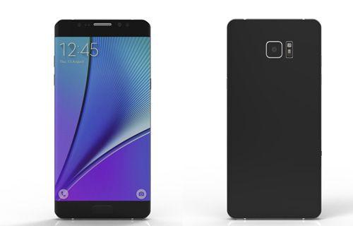Galaxy Note 7'nin iris tarayıcılı ön paneli sızdırıldı