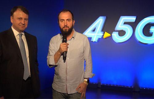 Özel Röportaj: Turkcell, 4.5G ile 1.2 Gbps Hıza Ulaştı