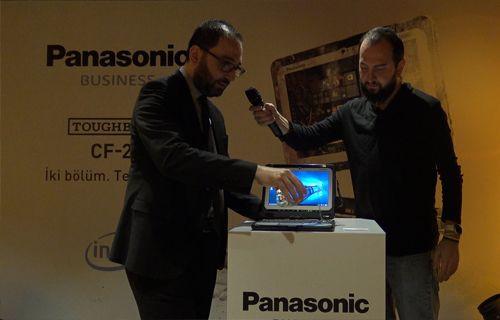 Panasonic Toughbook CF-20 Lansmanı Gerçekleşti