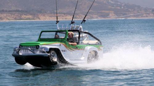 Karada ve suda giden en hızlı otomobil