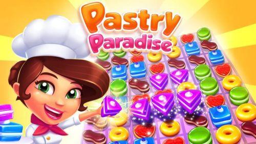 En tatlı oyun Pastry Paradise, iOS, Android ve Windows telefonlarda