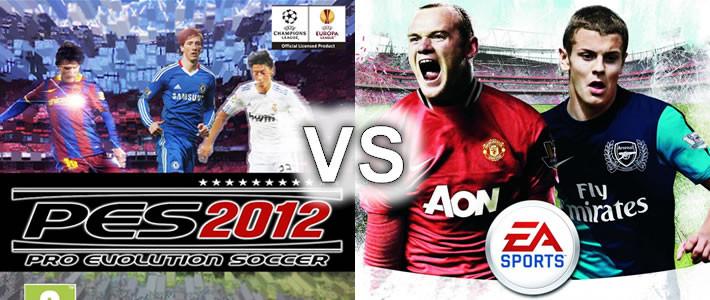 Bu sene PES 2012 mi yoksa Fifa 12 mi oynayacağız?