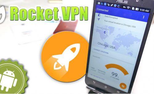Rocket VPN ile tüm verilerinizi koruyun