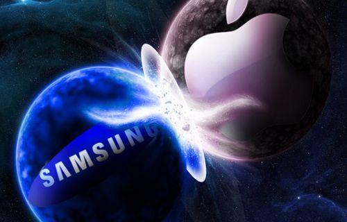 Samsung Galaxy Alpha, Apple iPhone 6 ile yanyana!