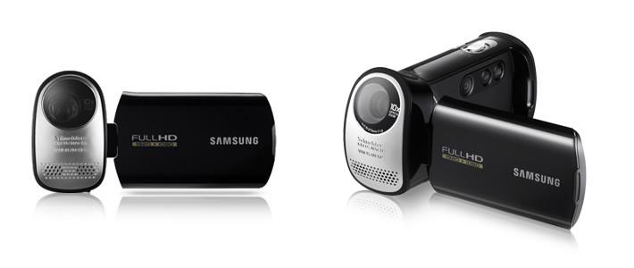 Samsung' dan mükemmel bir HD kamera!