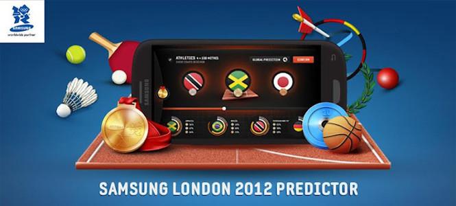 Samsung'tan Londra 2012 Predictor uygulaması!