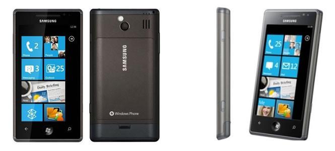 Samsung Omnia W: Windows Phone 7.5 Mango ile geliyor.