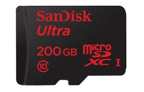 SanDisk dünyanın en yüksek kapasiteli microSD kartını üretti!