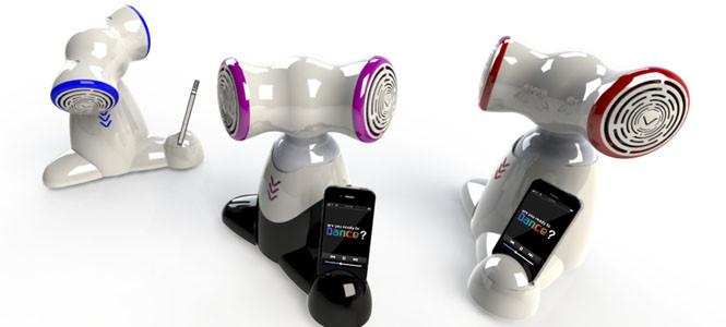 Müzik keyfi robotlara taşındı! (video)