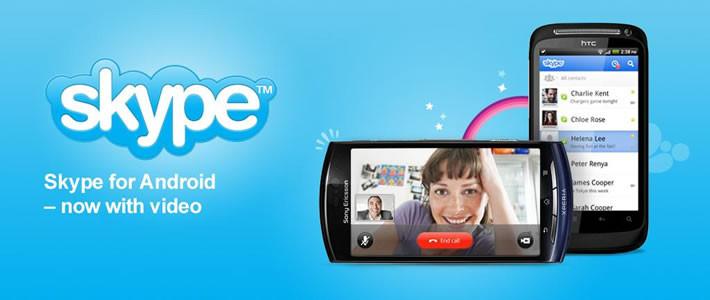Android için Skype 2.5 yayınlandı