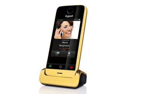 Kablosuz telefona altın dokunuş: Gigaset SL910 Gold