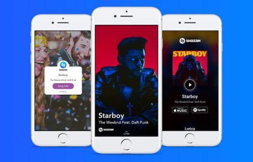 Snapchat'e Shazam özelliği geldi!