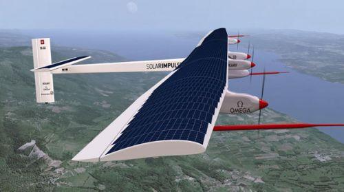 Güneş enerjili uçak bir ilke imza attı