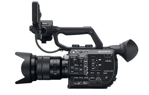Sony'den yeni 4K kompakt Super35 PXW-FS5