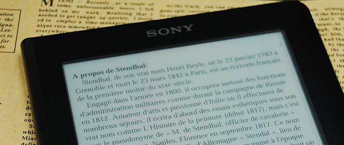 Sony' den yeni E-Kitap okuyucuları geliyor