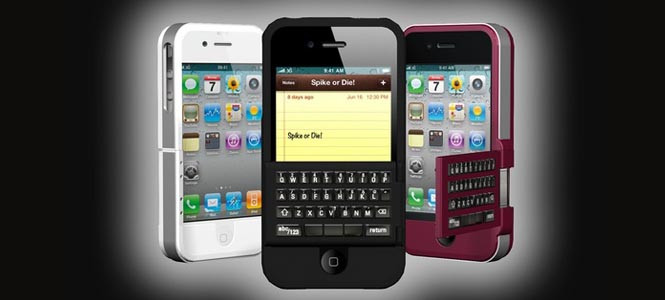 İşte QWERTY klavyeli iPhone!