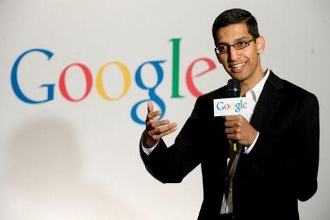 Google'ın tüm yükü Sundar Pichai'ye veriliyor