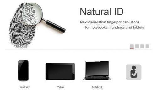 Synaptics Natural ID İle Parmak İzi Tarayıcısı Yer Değiştirecek