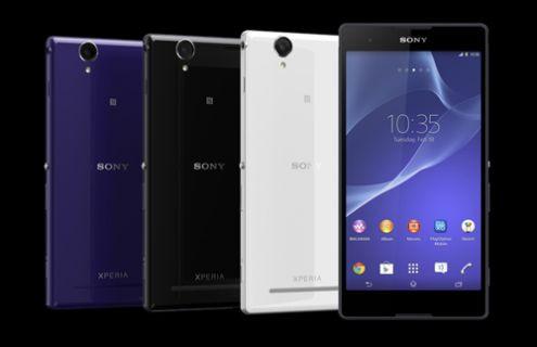 Yeni Sony Xperia T2 Ultra Türkiye'de