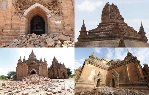 Deprem, tarihi mekanları yerle bir etti