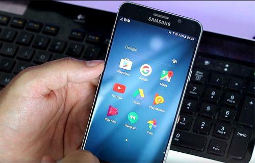 Galaxy Note 7'de yer alacak yeni Samsung arayüzü! (Video)