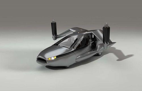 Volvo uçan otomobil üretecek!