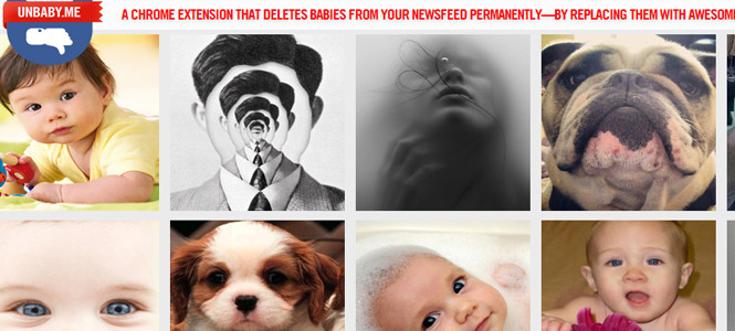 Bebeklere engel koyan Facebook uygulaması!