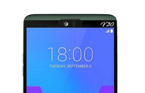 LG V30'un tasarımına bir göz atın