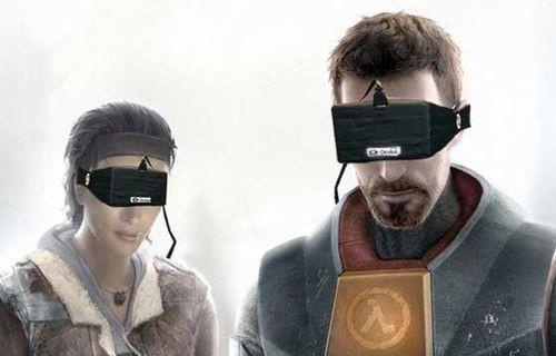 Valve'den VR oyunları geliyor!