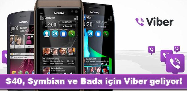 Viber, BlackBerry ve Windows Phone 7 için Beta sürümlerini yayınlıyor.