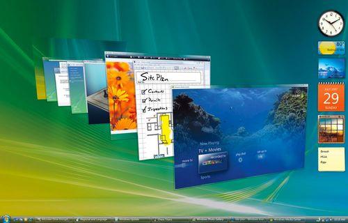 Windows Vista için yolun solu göründü!