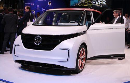 CES 2016: Elektrikli Volkswagen Budd-E ilk İzlenim Videosu