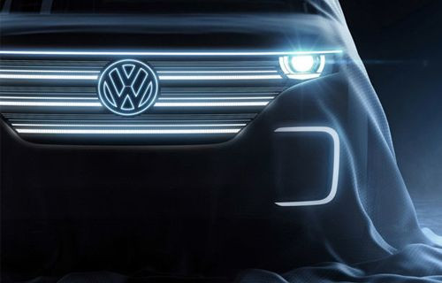 Volkswagen Yapımı Elektrikli Aracı Microbus'a Ait İlk Görüntü Çıktı