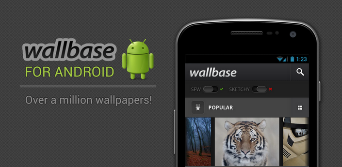 Günün Android Uygulaması - Wallbase HD Wallpapers