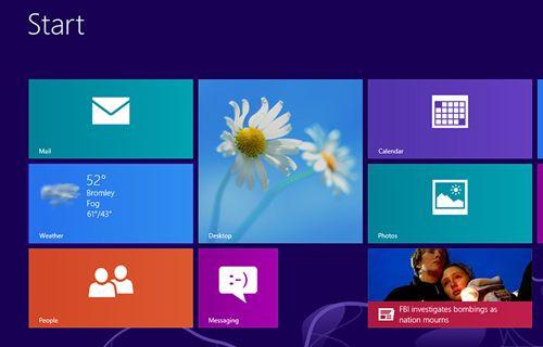 Microsoft Windows 8.1'i duyurdu!