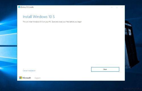 Windows 10 S çıktı! Windows 10 S indir!
