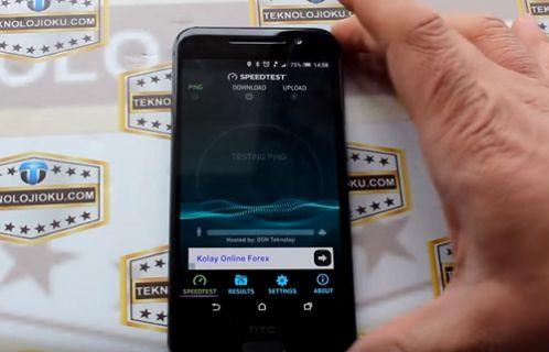 HTC One A9 İnternet Hız Testi [Video]