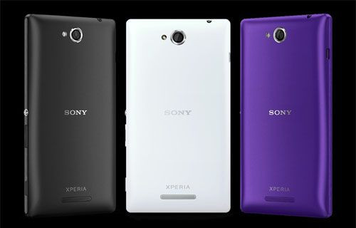Sony yine akıllı telefon duyurdu: Xperia C!