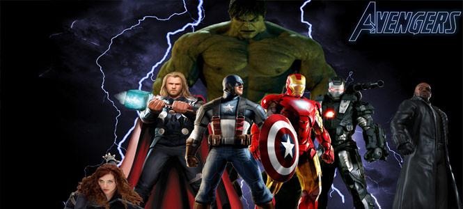 Yenilmezler (The Avengers) filmi üç günde rekor kırdı!