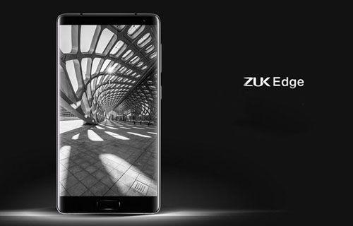 Çerçevesiz ekranlı telefon ZUK Edge tanıtıldı!