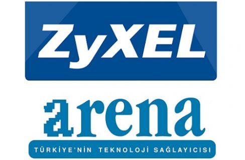 Arena Bilgisayar ZyXEL Ana Distribütörü Oldu