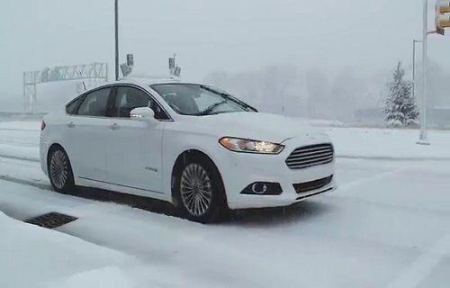 Ford, Otonom Aracı ile Karlı Yollara Çıktı