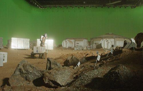 En iyi efekt Oscar'ına aday olan 'The Martian'' filminin etkileyici efektleri